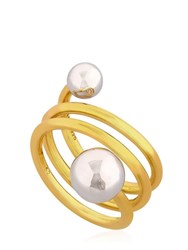 Maria Black Jewellery Double Ball Spiral Ring