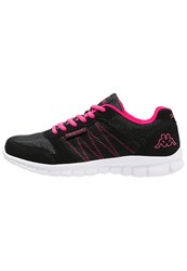 Kappa Stay Sports Shoes Black Pink