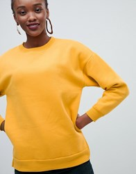 New Look Sweat Yellow