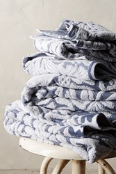 Anthropologie Mae Towel Collection Slate