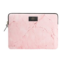 Wouf Marble Laptop Case Pink
