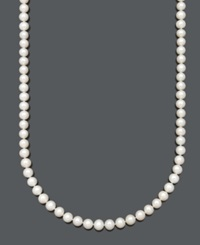 Belle De Mer Aa Cultured Freshwater Pearl Strand Necklace 7 1 2 8 1 2Mm In 14K Gold