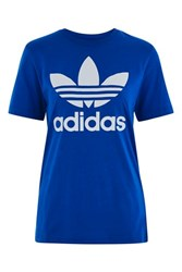 Adidas Original Trefoil Tee By Blue