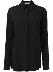 Jil Sander Button Down Shirt Black