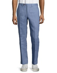 Lauren Ralph Lauren Linen Pants Light Blue