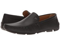 Giorgio Armani Driver Moccasin Black Men's Slip On Shoes