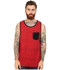 Matix Clothing Company Kora Tank Top Knit Cardinal Men's Sleeveless Red
