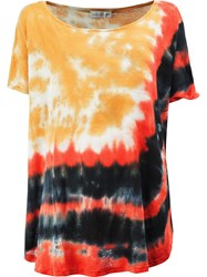 Faith Connexion Tie Dye Print T Shirt