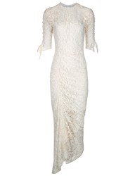 Preen Ivory Lace Piper Dress White