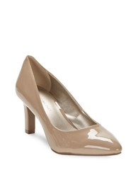 Bandolino Rany Polished High Heeled Pumps Light Natural
