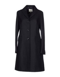 Henry Cotton's Coats Dark Blue