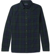 Alex Mill Checked Cotton Shirt Dark Green