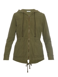 James Perse Jersey Twill Parka Jacket