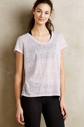 Pure Good Amida Burnout Tee Lavender