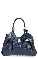 Brahmin 'Elissa' Handbag Blue Ink