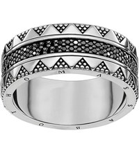 Thomas Sabo Filigree Sterling Silver And Zirconia Ring