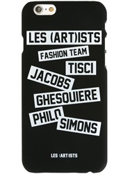 Les Artists Les Art Ists Allover Sticker Iphone 6 Case Black