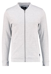 Only And Sons Onszip Tracksuit Top Light Grey Melange