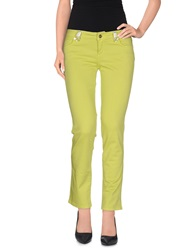 Blugirl Blumarine Casual Pants Acid Green