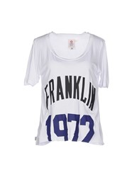 Franklin And Marshall Topwear T Shirts Women White