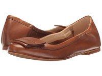 Hush Puppies Livi Heather Tan Leather Women's Flat Shoes