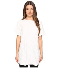 Yohji Yamamoto French Sleeve T Shirt White Women's T Shirt