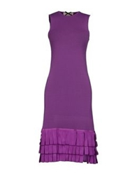 Swap Inside Short Dresses Purple