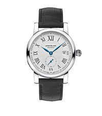 Montblanc Star Roman Small Second Automatic Watch Silver