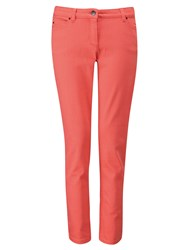 Pure Collection Cropped Jeans Peach Coral