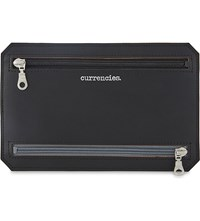 Undercover Recycled Leather Currency Wallet Black