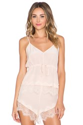 Keepsake Stolen Dance Silk Cami Peach