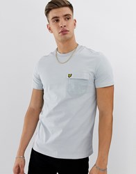 Lyle And Scott Contrast Pocket T Shirt In Grey