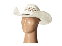 Mandf Western T71620 Twisted Weave Cowboy Hats White