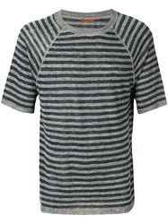 Barena Striped T Shirt Grey