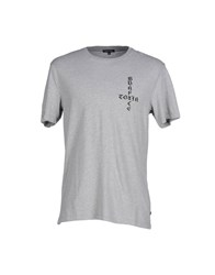 Surface To Air Topwear T Shirts Men Light Grey