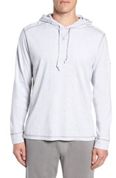Tommy Bahama Big And Tall Bali Skyline Hooded Pullover Zinc Gray Heather