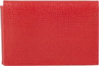 Mark Cross Trifold Wallet Red