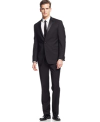 Kenneth Cole Reaction Slim Fit Black Tuxedo
