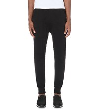 Blood Brother Tonal Patches Jersey Jogging Bottoms Black