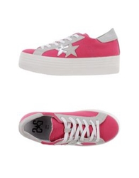 2Star Low Tops And Trainers Fuchsia