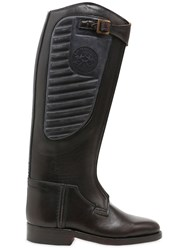 La Martina Leather And Rubber Riding Polo Boots