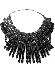 Tom Binns Massai Statement Necklace Black