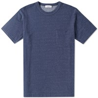 Nanamica French Terry Pocket Tee Blue