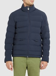 Colmar Blue Matte 1244 Heat Sealed Down Jacket