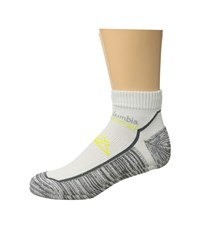 Columbia Trail Running Xs Technology Lightweight Low Cut Socks 1 Pack White Low Cut Socks Shoes