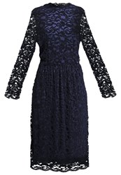 Soaked In Luxury Matilda Cocktail Dress Party Dress Blues Dark Blue