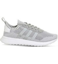 Adidas Flb_Runner Primeknit Trainers Clear Onix White