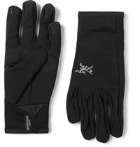 Arc'teryx Venta Leather Trimmed Tretch Jerey Glove Black