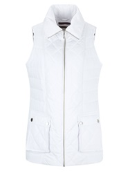 Dash Nylon Lightweight Gilet White