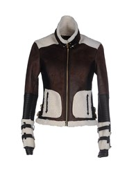 Supertrash Coats And Jackets Jackets Women Dark Brown